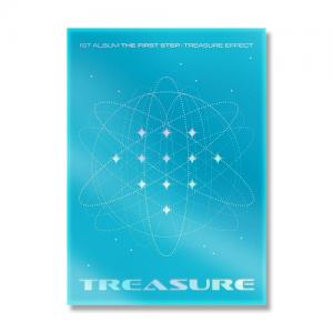 TREASURE - 1st ALBUM [THE FIRST STEP : TREASURE EFFECT] BLUE ver.