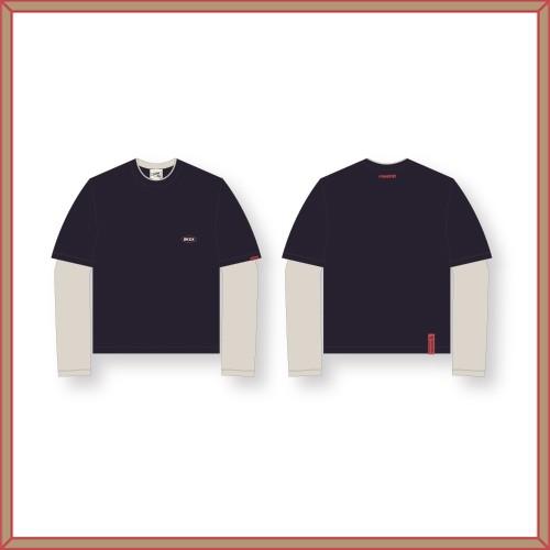 STRAY KIDS(Stray Kids)-[1ST#LoveSTAY'SKZ-X'] layered T-shirt LAYERED T-SHIRT