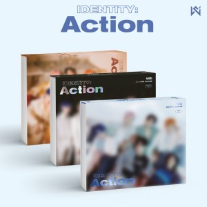 [세트] 위아이(WEi) - 3rd Mini Album  [IDENTITY : Action (3RD 미니앨범) (Wave + Roller + Ocean ver)].