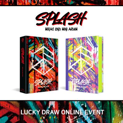 [럭키드로우 이벤트] 미래소년 [Splash MIRAE 2nd Mini Album] (랜덤, 짝수 구매시 세트)