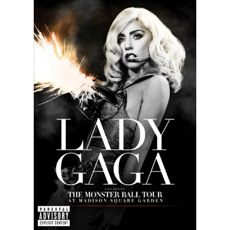 LADY GAGA  -  LADY GAGA PRESENTS:THE MONSTER BALL TOUR AT MADISON SQUARE GARDEN(1 DISC)