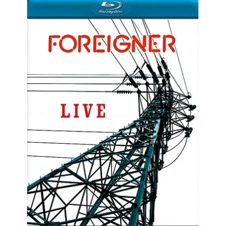FOREIGNER  -  LIVE(1 DISC)