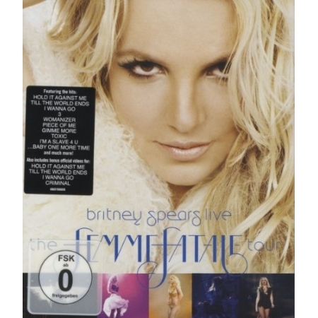 BRITNEY SPEARS  -  THE FEMME FATALE TOUR(1 DISC)