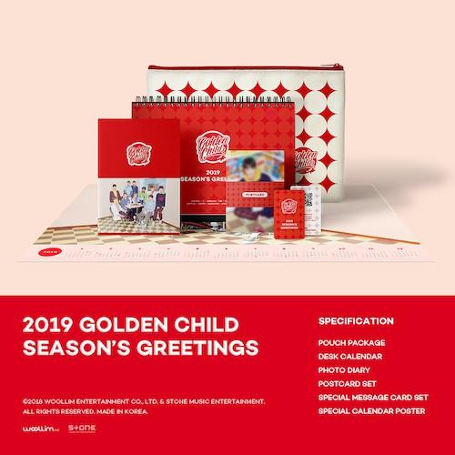 ゴールデンチャイルド(GOLDEN CHILD) -  [2019シーズングリーティング](2019 GOLDEN CHILD SEASON'S GREETINGS)