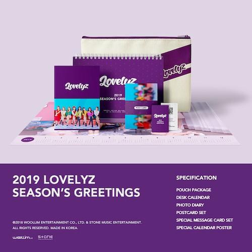 ラブリーズ(LOVELYZ) -  [2019シーズングリーティング](2019 LOVELYZ SEASON'S GREETINGS)