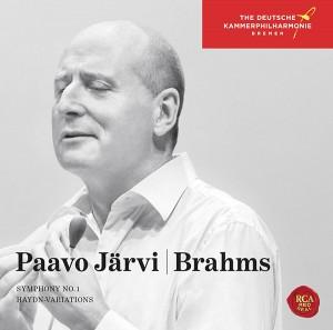 パーヴォ・ヤルヴィ&ドイツカムモピルハーモニック -  Brahms:Symphony No. 1&Haydn Variations(ブラームス交響曲第1番&ハイドンの主題による変奏曲)