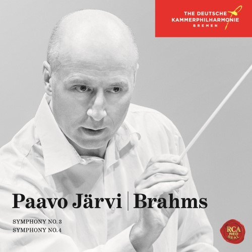PAAVO JARVI(パーヴォ・ヤルヴィ) -  [BRAHMS:SYMPHONIES NO.3&NO.4]