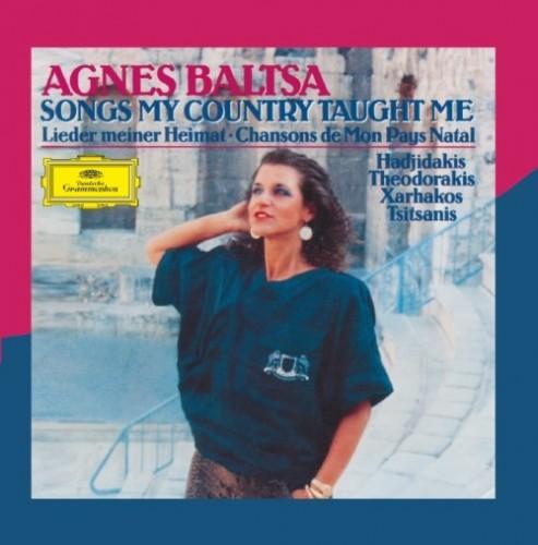 AGNES BALTSA(アグネス発車) -  [SONGS MY COUNTRY TAUGHT ME(私の祖国が教えてくれた歌)]