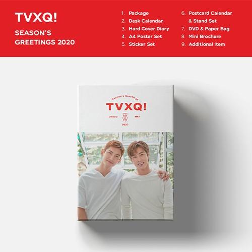 東方神起(TVXQ!) -  [2020シーズングリーティング(SEASON'S GREETINGS 2020)]