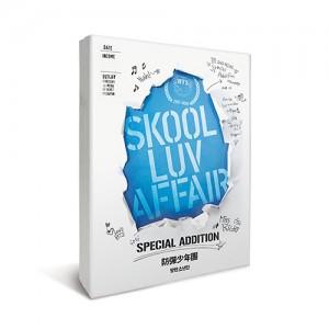 防弾少年団 -  SKOOL LUV AFFAIR(ミニ2集:SPECIAL ADDITION)<CD + 2 DVD>再発売