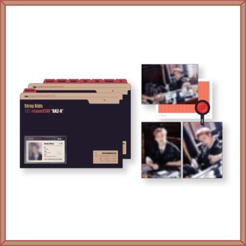 STRAY KIDS(Stray Kids)-[1ST#LoveSTAY'SKZ-X'] Postcard & IDcard File Set POSTCARD & ID CARD FILE SET