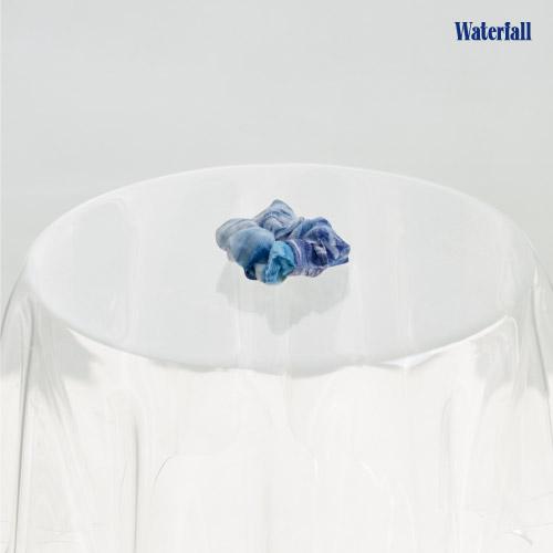 B.I [Waterfall] OFFICIAL MD 스크런치 Hair Scrunchie