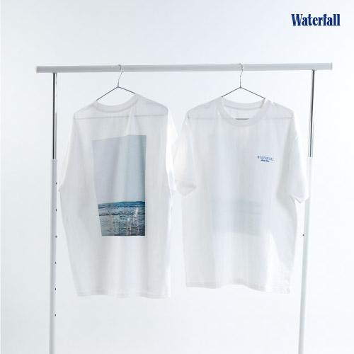 B.I [Waterfall] OFFICIAL MD 반팔 티셔츠 Short Sleeve T-Shirts