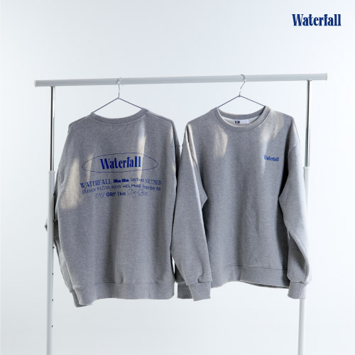 B.I [Waterfall] OFFICIAL MD 맨투맨 Sweat Shirts