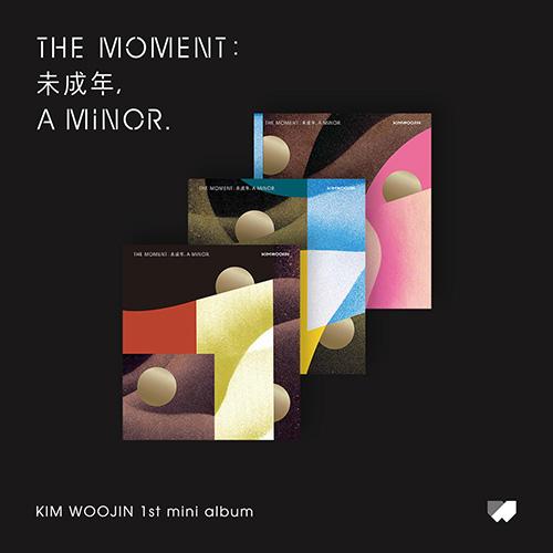 김우진 - [The moment : 未成年, a minor.] (Version SET)