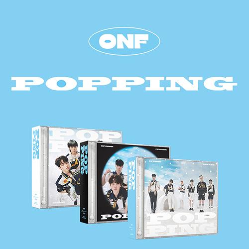 온앤오프 (ONF) - POPPING (-10℃ Ver.,12℃ Ver.,38℃ Ver. 합본)