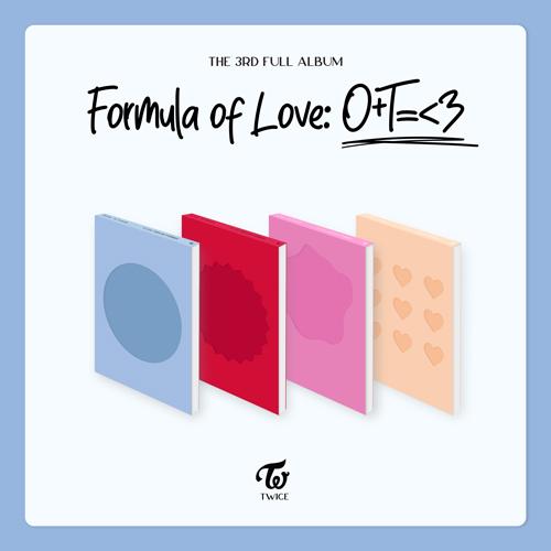 트와이스 (TWICE) - [Formula of Love: O+T=<3] (랜덤)